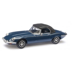 Ricko 38220 Jaguar E-Type, 1971, stängd cabriolet, blå