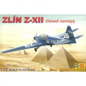 RS Models 92041 Flygplan Zlin Z-XII Skellefteå Flygklubb 1936-47