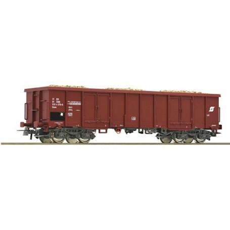 Roco 00051 Öppen godsvagn Eaos 533 4 031-6 typ ÖBB med last av betor, epok V-VI