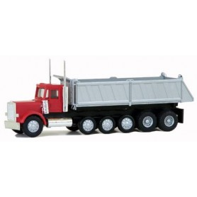 Promotex 6417 Peterbilt Super Dumptruck. 3 Lift Axles