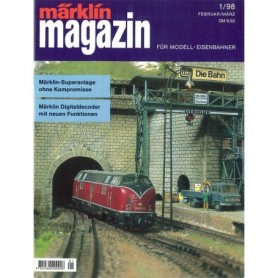 Media KAT101 Märklin Magazin 1/1998 Tyska