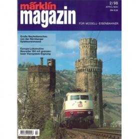 Media KAT102 Märklin Magazin 2/1998 Tyska