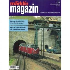 Media KAT103 Märklin Magazin 1/1998 Tyska