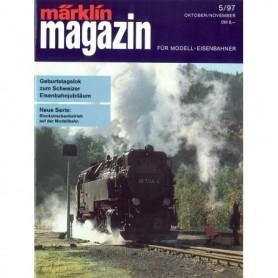 Media KAT108 Märklin Magazin 5/1997 Tyska