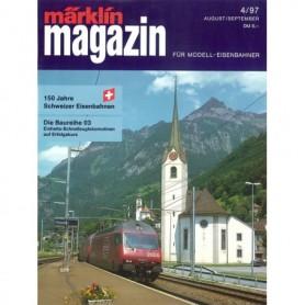 Media KAT112 Märklin Magazin 4/1997 Tyska