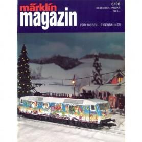 Media KAT122 Märklin Magazin 6/1996 Tyska