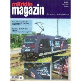 Media KAT123 Märklin Magazin 3/1998 Tyska