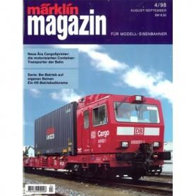 Media KAT124 Märklin Magazin 4/1998 Tyska