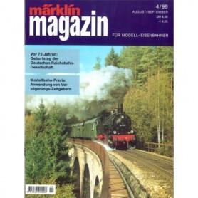 Media KAT125 Märklin Magazin 4/1999 Tyska