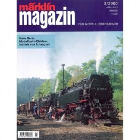 Media KAT132 Märklin Magazin 3/2000 Tyska