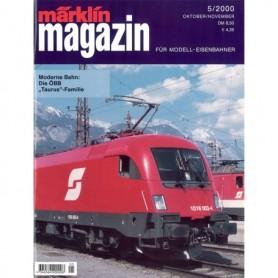 Media KAT134 Märklin Magazin 5/2000 Tyska