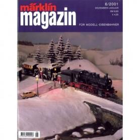 Media KAT141 Märklin Magazin 6/2001 Tyska