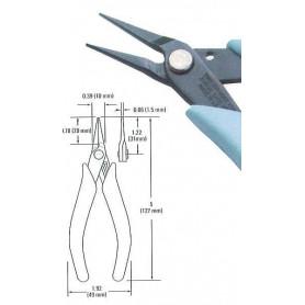 Xuron 90066 450S Tweezernose Serrated gap, den ultimata tången som håller ett hårstrå exakt