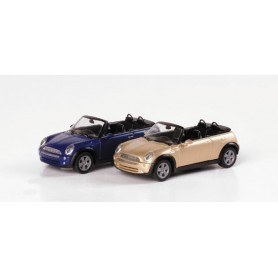 Herpa 033275 Mini Cooper? Cabrio, metallic
