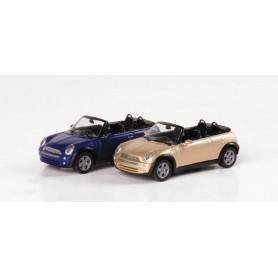 Herpa 033275 Mini Cooper™ Cabrio, metallic
