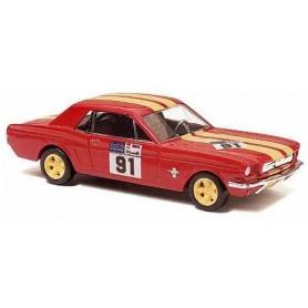"""Busch 47553 Ford Mustang Coupé """"HTWT Start-Nr. 91"""""""