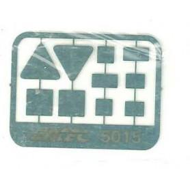Entec 5015-5 Tavlor, rektangulära (5 par)
