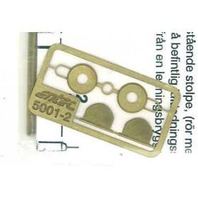 Entec 5001-2B Signal SJ, 1-skens, med stolpe