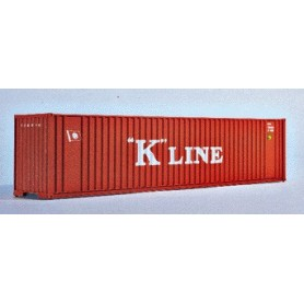 "Walthers 3404 Container 40-fots High-Cube Container ""K-Line"""