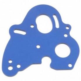Traxxas 5690 Motorplatta, fäste, för E-Revo, 1 st, blå aluminium