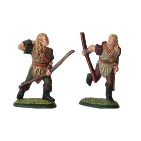 Prince August 622 Fantasy Armies, Silvanalver bågskyttar / Silvan elf archers