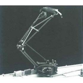 Märklin 615380 Strömavtagare typ einholm, 1 st, brunierad, svarta isolatorer, 1989-. Kolls version 18