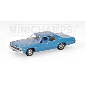 Minichamps 400144770 Dodge Monaco 1974, blåmetallic