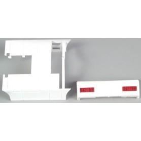 AMW 90023 Chassiesida/Panel/Sidoskydd. Dragbil MAN F90, 2 st