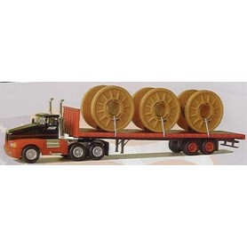 "Model Power 19002 Kenworth Transport av kabeltrummor ""General Cable"""