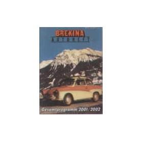 Brekina 12170 Brekina Autoheft 2001/2002