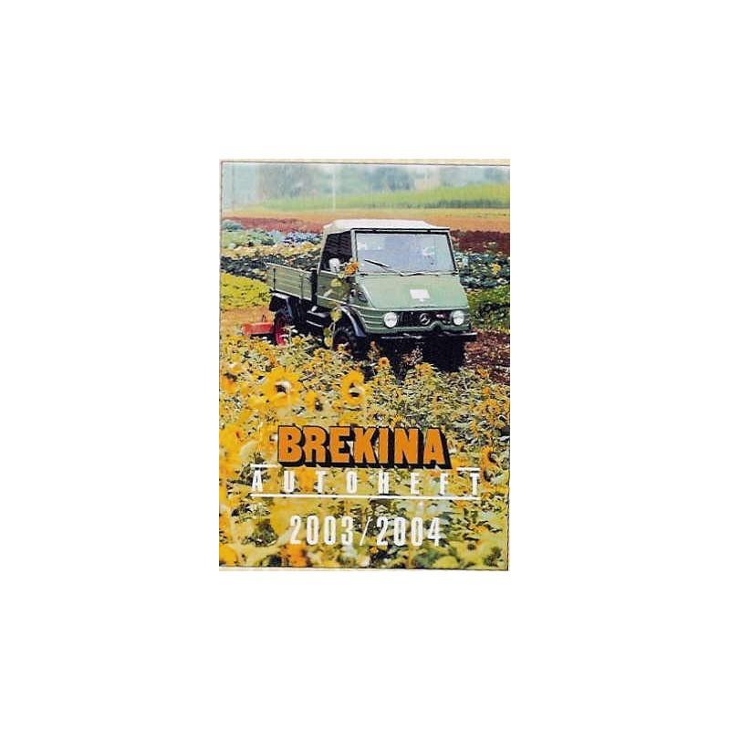 Brekina Autoheft 2003//2004