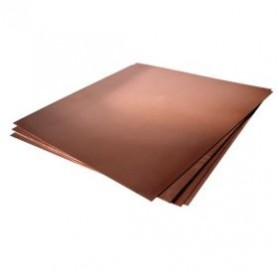 "K&S 15054 Kopparplåt - Copper Sheet, .016 x 5"" x 7"", 130 x 180 x 0.41 mm, 1 st"