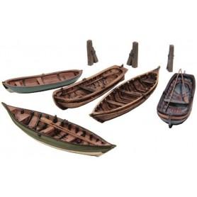 Artitec 50122 Roddbåtar 5 st