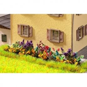 Noch 14050 Trädgårdsblommor (diverse), 17 st plantor, laserskurna