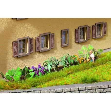 Noch 14054 Trädgårdsgrönsaker, 17 st plantor, laserskurna