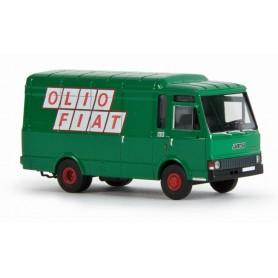 "Brekina 34511 Fiat Zeta Skåp ""Olio Fiat"", grön"