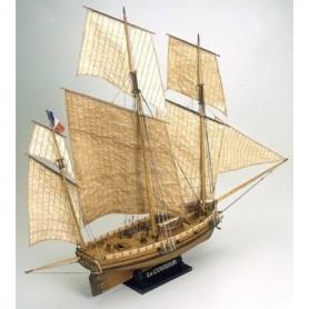 "Mamoli MV38 Le Coureur ""French Lugger 1776"""
