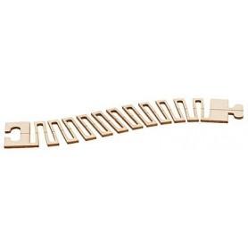 Faller 161931 Laserskuren flexibel väg för Faller Car System, mått 250 x 50 mm