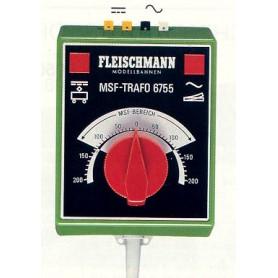 "Fleischmann 6755 Transformator ""MSF"" 15V,/1.1 A (1100 mA) - 14V-/1.0 A (1000mA)"
