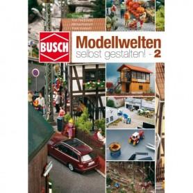 "Busch 999812 Landskapskatalog med byggtips ""Natur Pure - The Best Modeling Techniques - nr 2."""