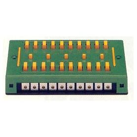 Fleischmann 6941 Kopplingsplint, för att kunna skarva 10 st kablar