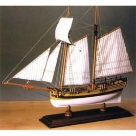 "Amati 1442 American Schooner ""Hannah"" 1775 Georg Washington Naval Squadron"