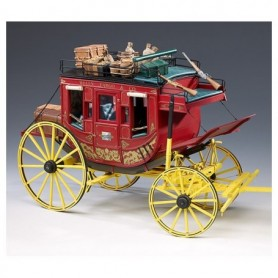 "Amati 1711.01 United States Wells Fargo Stage Coach ""Treasures of the Old West"""