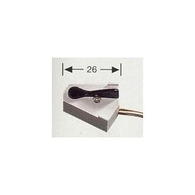 Fleischmann 6900 Switch kontroll, momentankontakt för att lägga om växlar, mått 26 mm