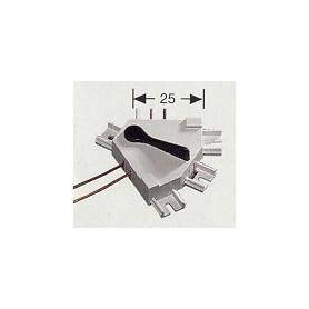 Fleischmann 6908 Kontroll för 3-vägs växlar, mått 25 mm