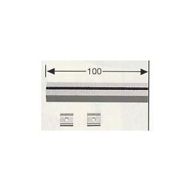 Fleischmann 6911 Symbol för raksträcka, med 30 st clips, lämgd 100 mm
