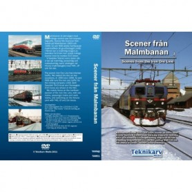 Teknikarv TAM61 Scener från Malmbanan DVD