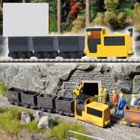"""Busch 5000 Startset """"Mine Railway"""" Gruvan"""