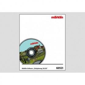"""Märklin 60521 Märklin Mjukvara """"Track Planning 2D/3D"""" Version 7.0"""