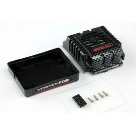 Team Orion 65163 ESC Låda Case Carbon för R8 Pro fartreglage